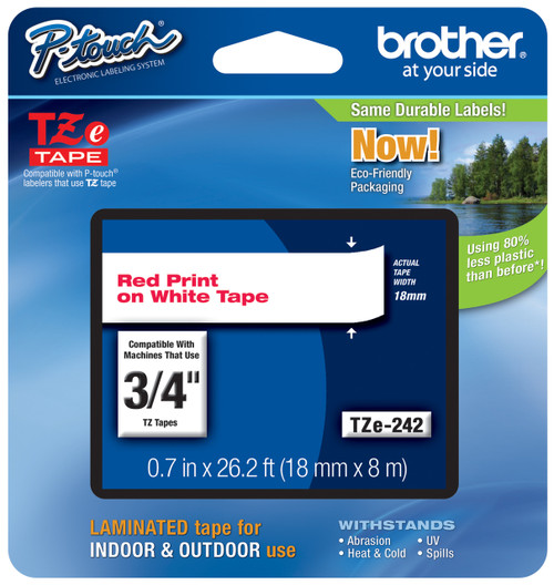 Brother TZ-242 p-touch tape