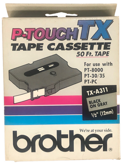 Brother TX-A311 p-touch label