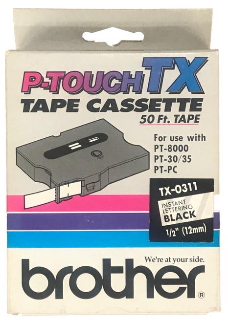 TX-0311 Instant black lettering cassette
