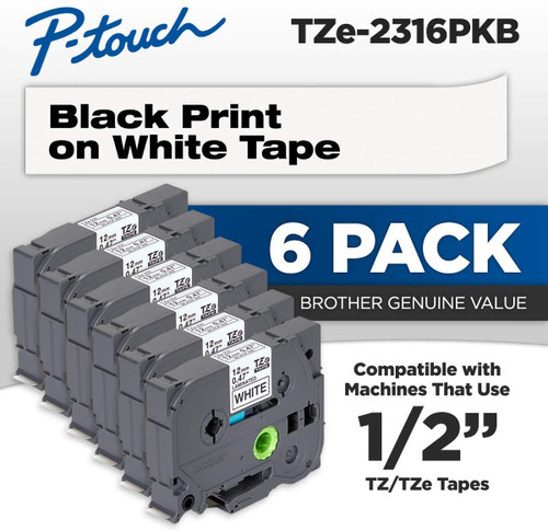 Brother TZ-2316PK 6 pack
