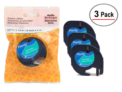 Compatible with LetraTAG Dymo 91334 tape