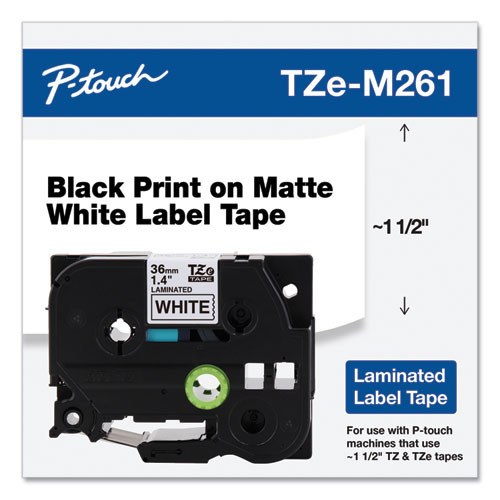 Brother TZe-M261 p-touch tape
