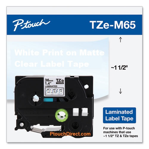 Brother TZe-M65 p-touch tape