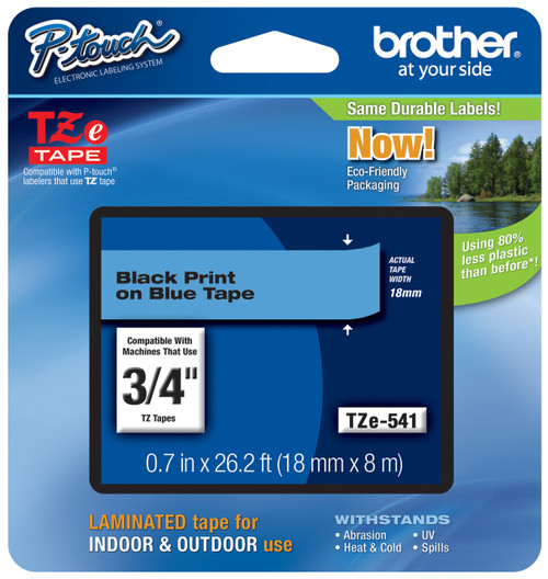 Brother TZ-541 p-touch tape