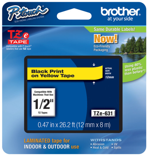 Brother TZ-631 p-touch tape