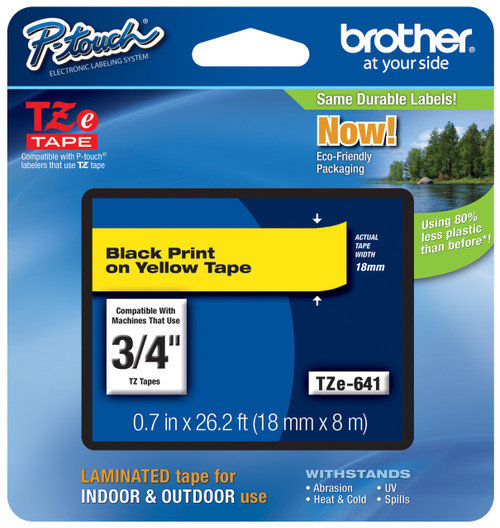 Brother TZ-641 p-touch tape