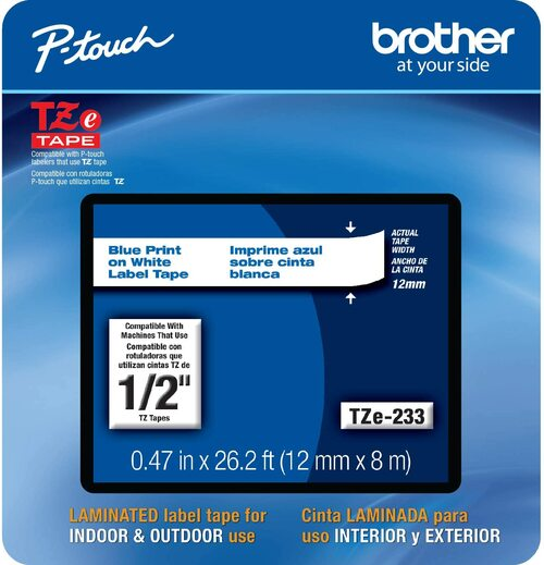 Brother TZe-233 p-touch tape