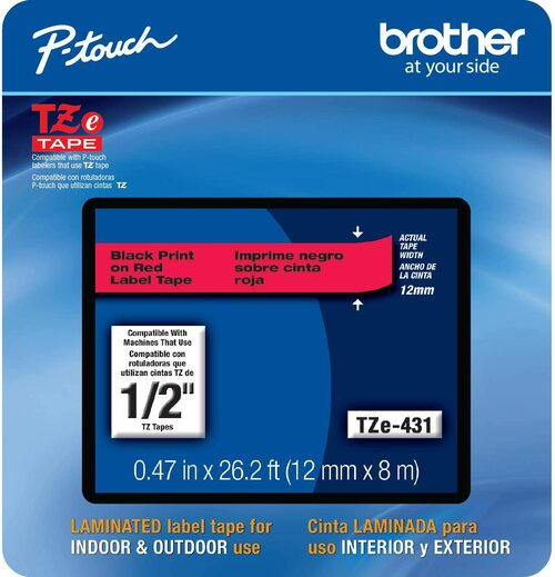 Brother TZe-431 p-touch tape