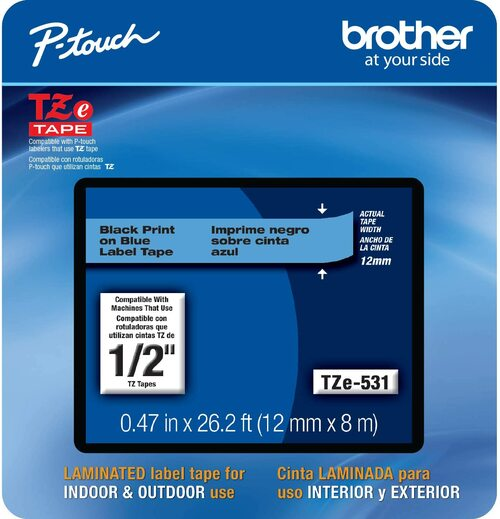 Brother TZe-531 p-touch tape