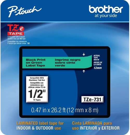 Brother TZe-731 p-touch tape