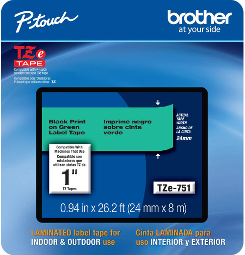 Brother TZe-751 p-touch tape 24mm