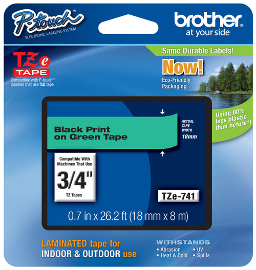 Brother TZ-741 p-touch tape