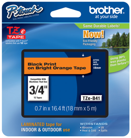 Brother TZ-B41 p-touch tape