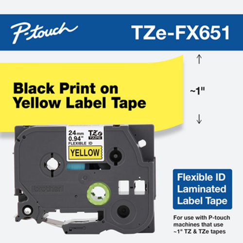 Brother TZE-FX651 ptouch flexible label