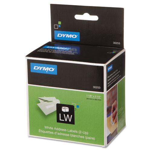 dymo 30253 white address labels