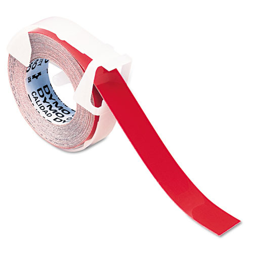 Dymo 520102 Red Embossing Tape