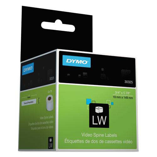Dymo 30854 CD/DVD Labels, 2-1/4in dia, White, 160/Box