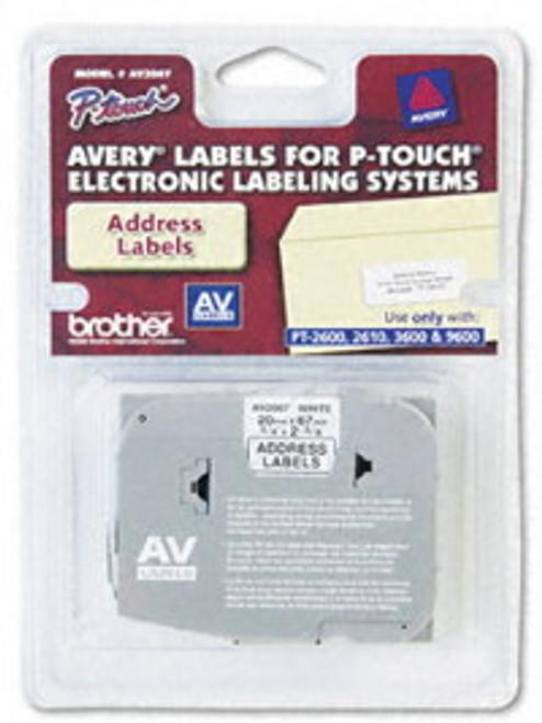 brother avery av2067 address Label Tape