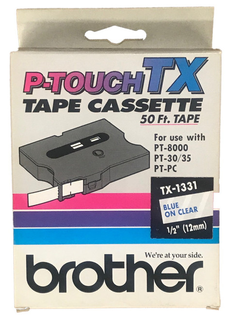Brother tx-1331 Label Tape