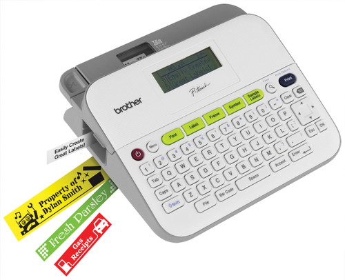 Brother PT-D400RF Easy-to-Use Desktop Label Maker