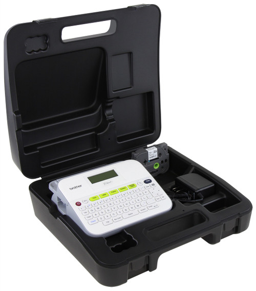 PT-D400VP p-touch label printer with Case