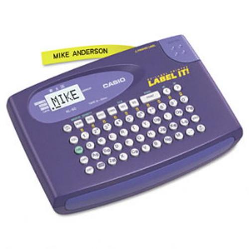 Casio KL60L Compact Label Maker, 2 Lines