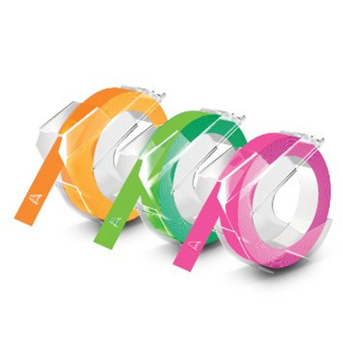 Dymo 1933353 neon embossing tapes