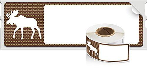DYMO LabelWriter Holiday Address Labels moose