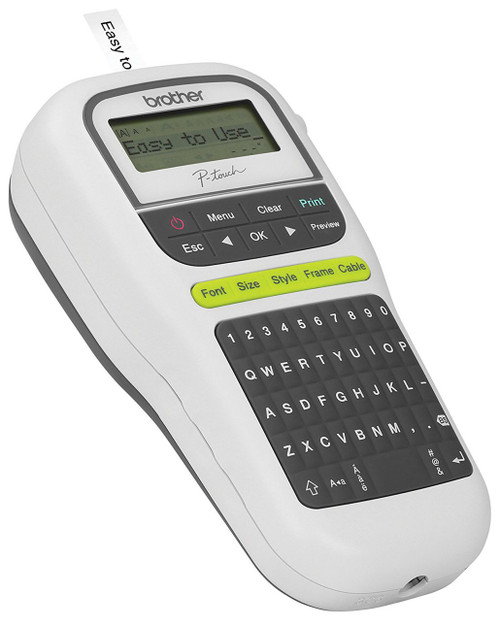 brother pt-h110 handheld portable p-touch label maker