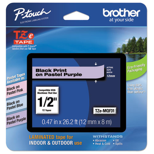 Brother TZe-MQF31 p-touch tape
