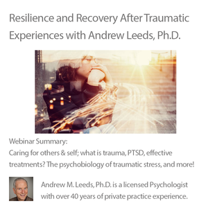 Resilience and Recovery After Traumatic Experiences