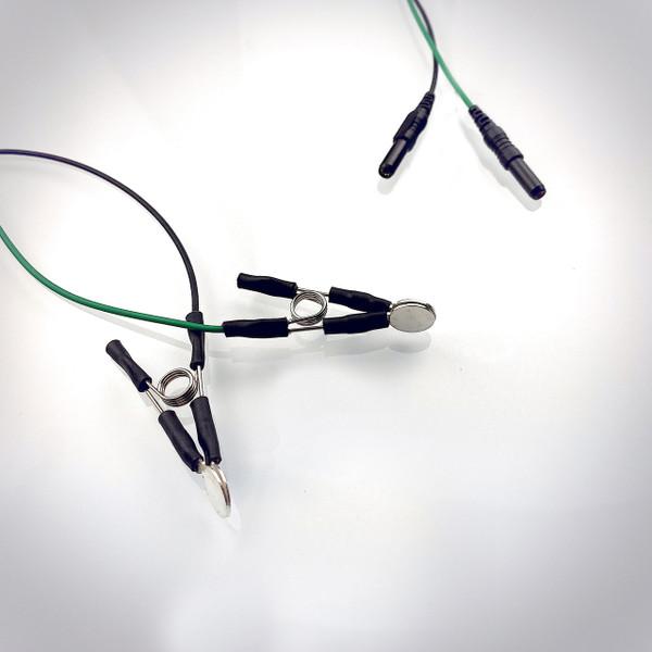 LENS Signature Silver -  2 Ear Clip Set
