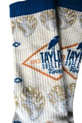 Taylor Logo Socks