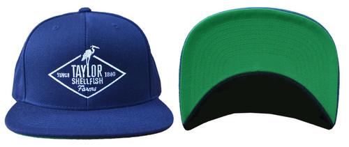 Blue Snap-back Taylor Hat