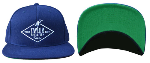 Blue Snap-back Taylor Hat