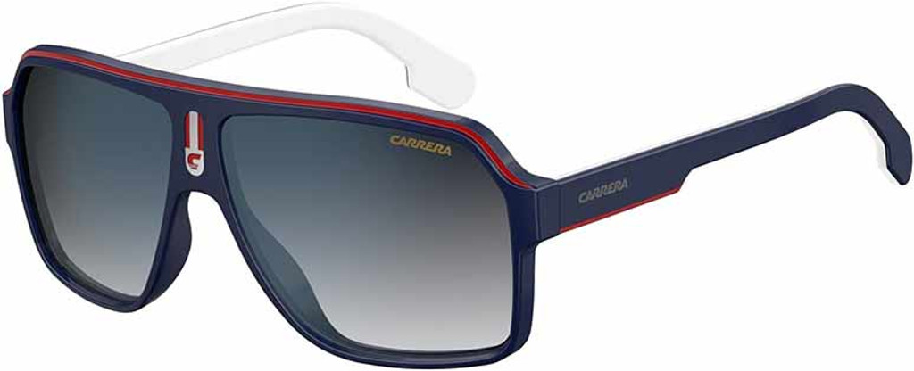 Carrera Sunglasses 1001S 08RU 9O Blue Red