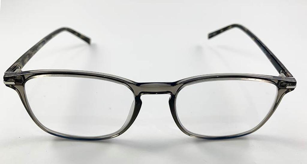 Grey Geek Eyeglasses