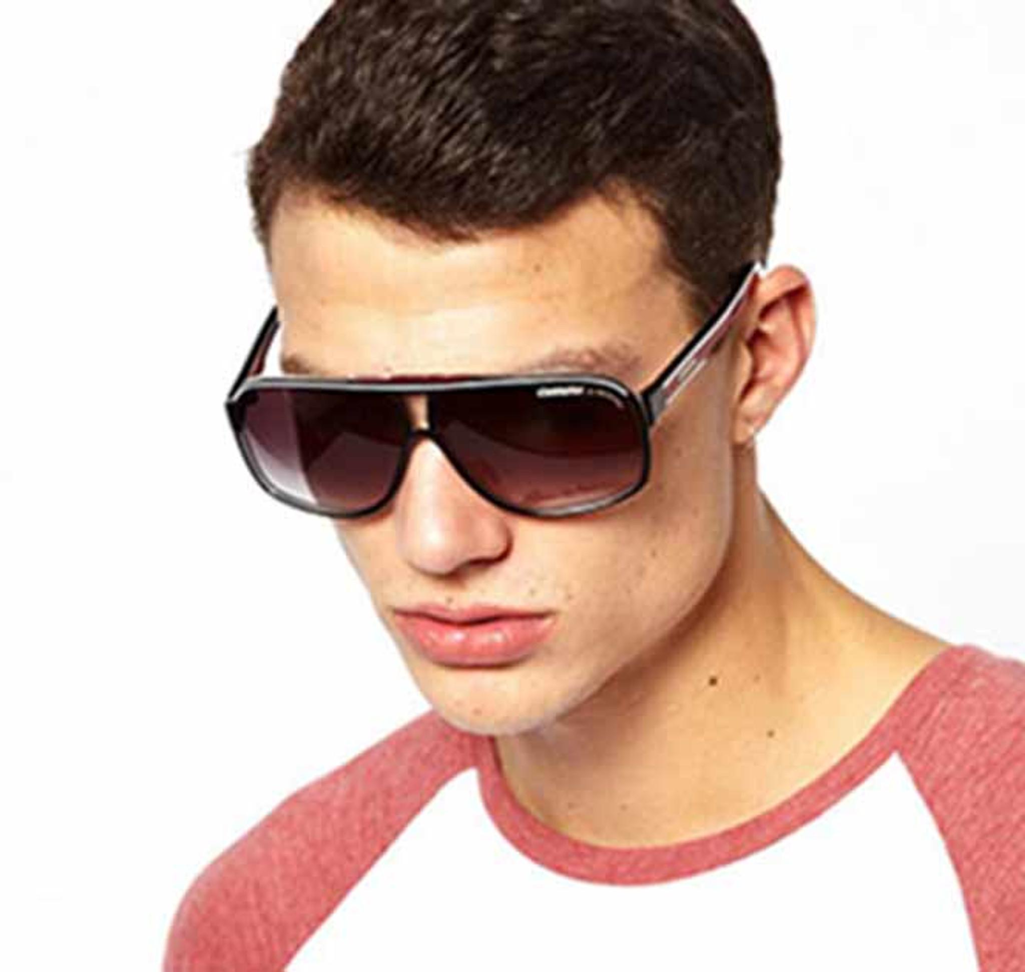 New CARRERA Square Aviator Sunglasses Mens Women Oversized Outdoor Shade Glasses