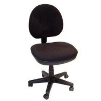 Fully Upholstered Fabric Task Ergonomic Chair from