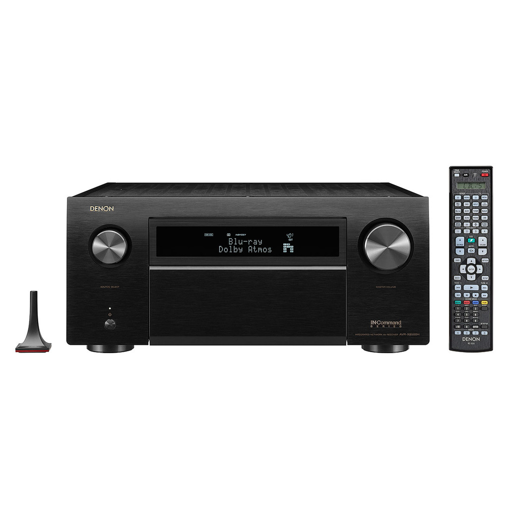 Denon AVR-X8500H World's first 4K Ultra HD 13.2 Channle Multiroom AV Receiver with Built in HEOS technology and Dolby Atmos, DTS:X and Auro 3D