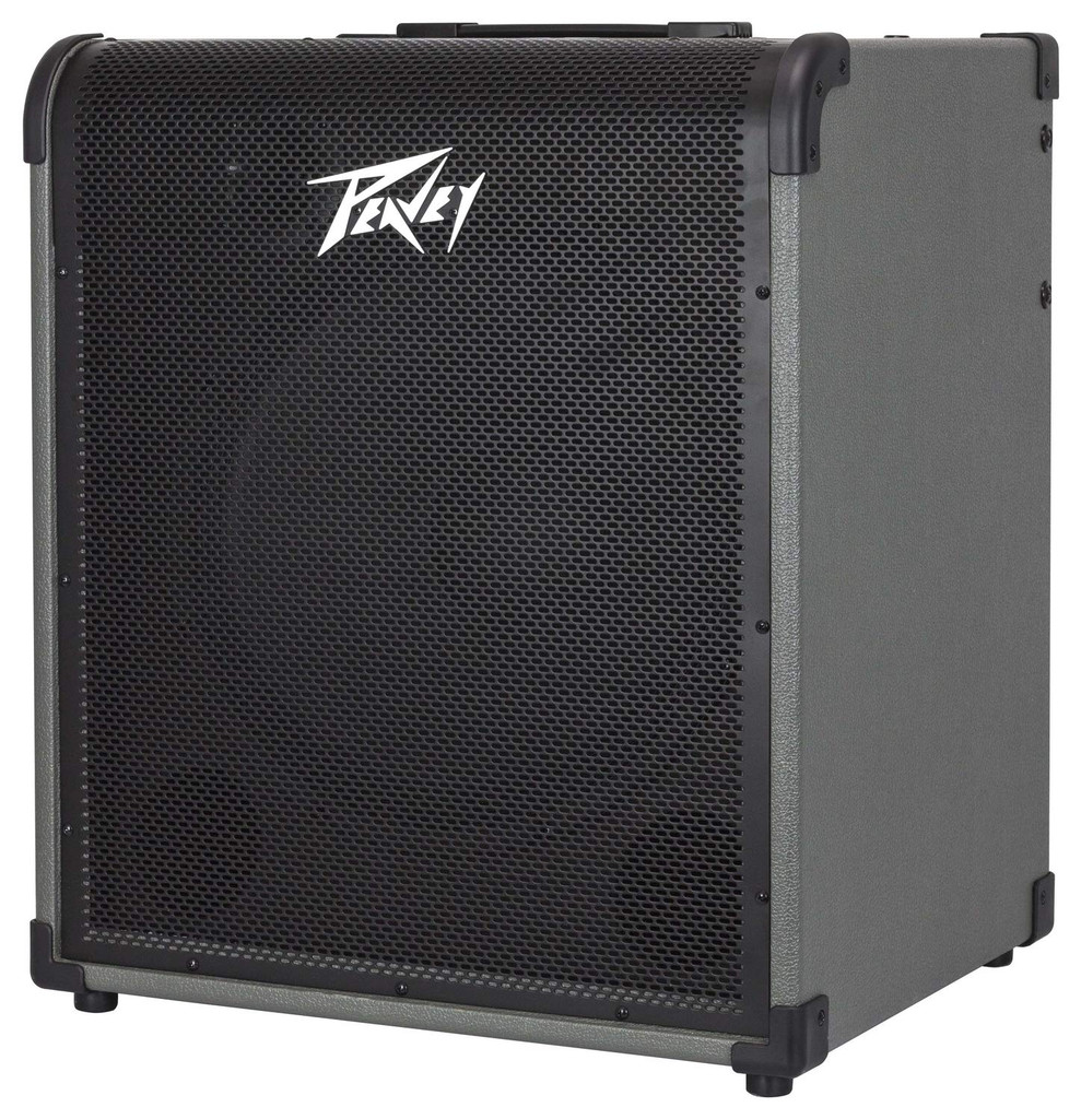 """Peavey MAX 250 250W, 1-channel, Solid-state, 1x15"""" Bass Combo Amp with 3-band EQ and Overdrive"""
