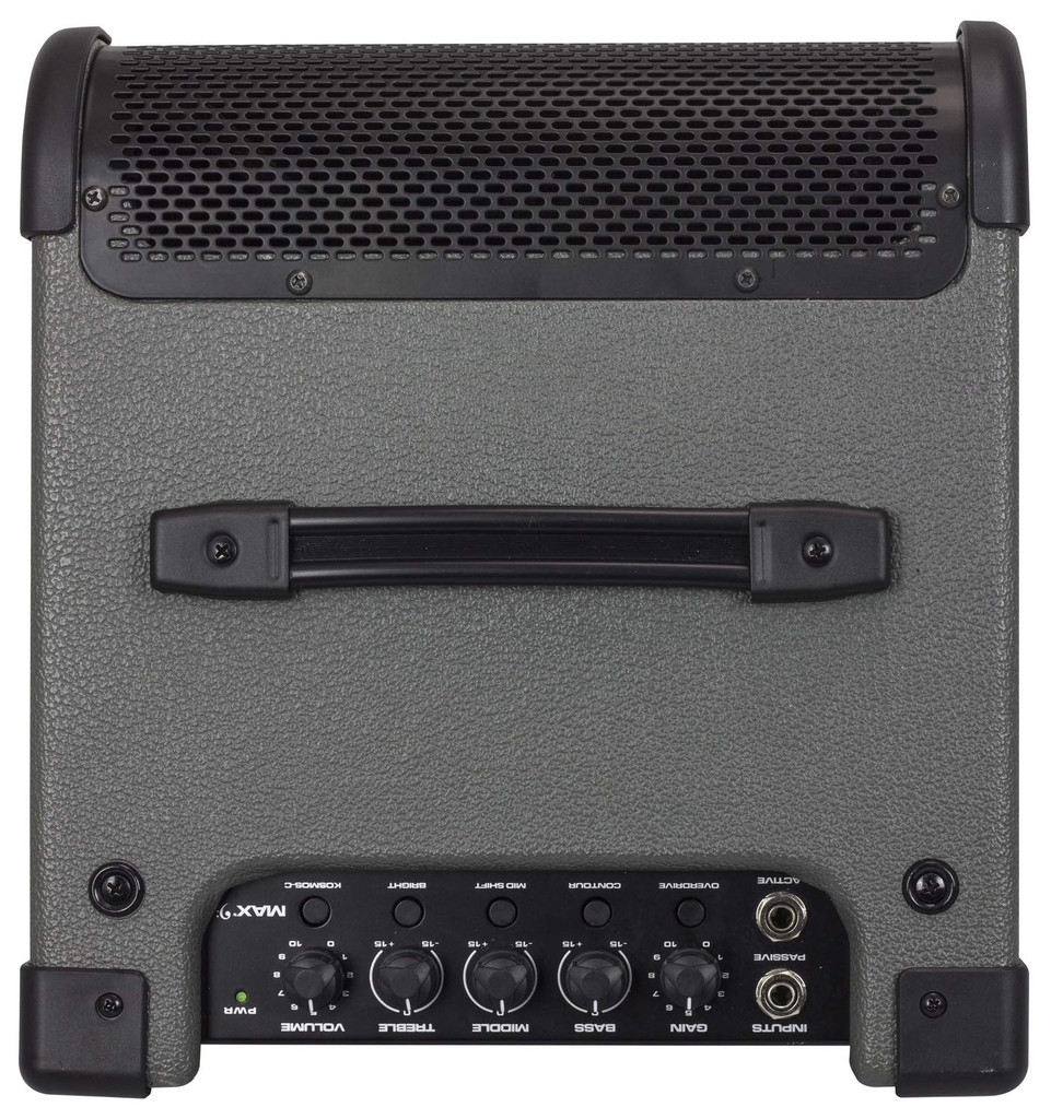 """Peavey MAX 208 200W, 1-channel, Solid-state, 2x8"""" Bass Combo Amp with 3-band EQ and Overdrive"""