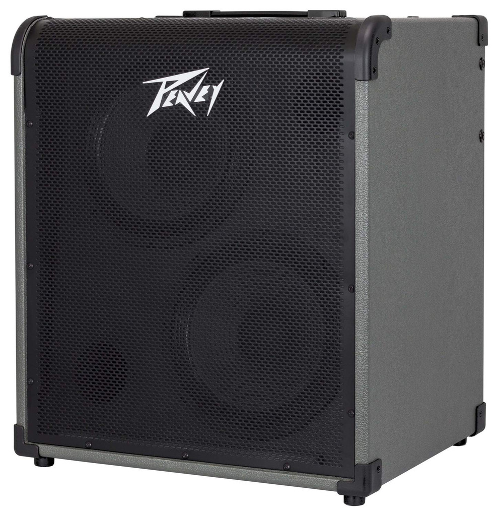 """Peavey MAX 300 300W, 1-channel, Solid-state, 2x10"""" Bass Combo Amp with 3-band EQ and Overdrive"""
