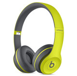 Beats by Dre Solo 2 Wireless Active On-Ear Headphone in Shock Yellow