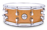 Mapex MPML4550CNL All Maple Chrome Hardware Snare Drum in Natural Finish
