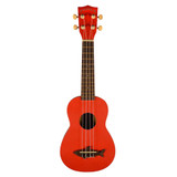 """Kala Makala MK-SS Shark Series Soprano Ukulele - Red Sea"