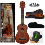 """KALA MK-S Concert Ukulele with Gig Bag"