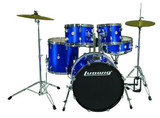 Ludwig Accent Fusion Drum Set with Hardware & Cymbals