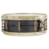 Ludwig LB416BT Black Beauty Brass on Brass 5 x 14 Inches Snare Drum