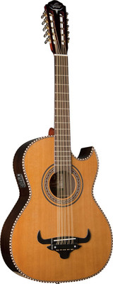 """Oscar Schmidt OH32SE Acoustic-Electric Guitar"